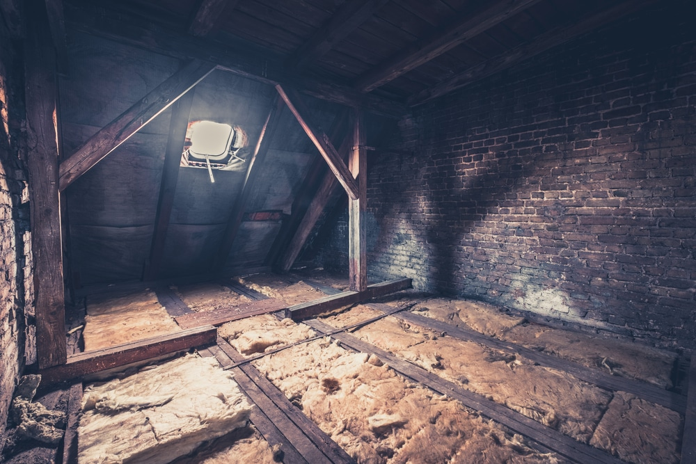 attic clean-outs and restoration